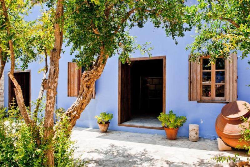 Кипр в июне - Ларнака, Деревня Лефкара