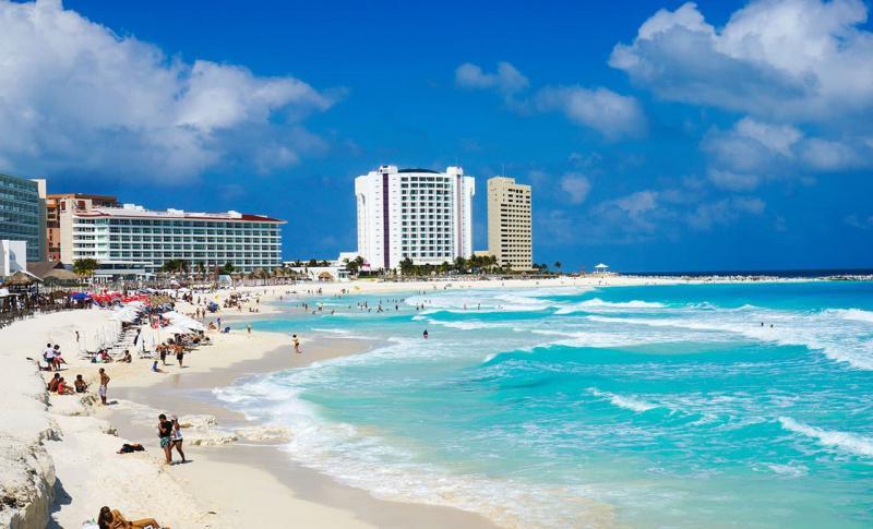 Мексика, Пляж Канкун