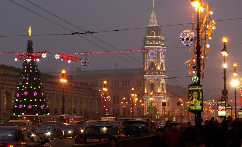 Россия, Невский проспект в Санкт-Петербурге
