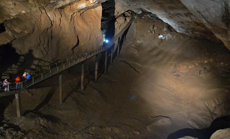 Абхазия, Новоафонская пещера