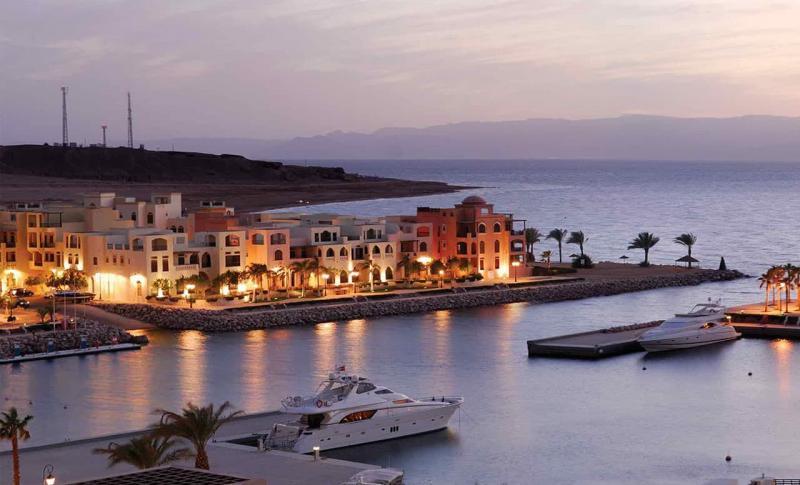 Иордания, Набережная курорта Акаба