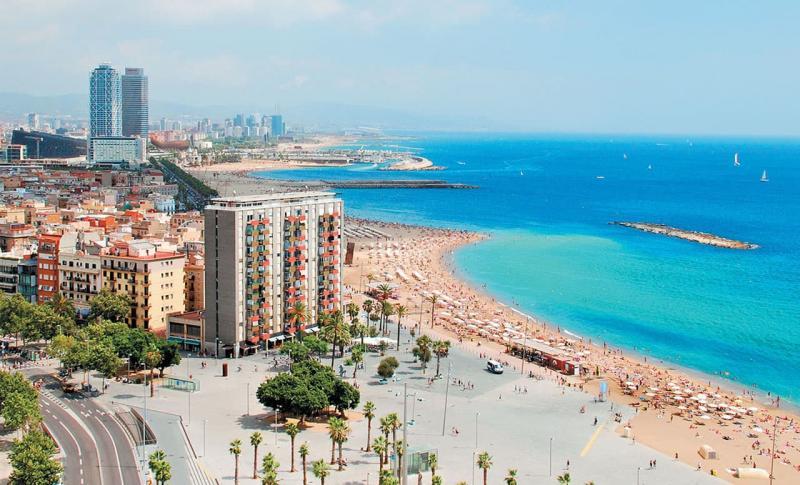 Испания, Набережная Барселоны