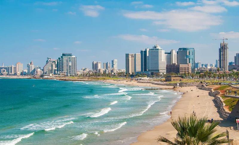 Израиль, Береговая линия Тель-Авива
