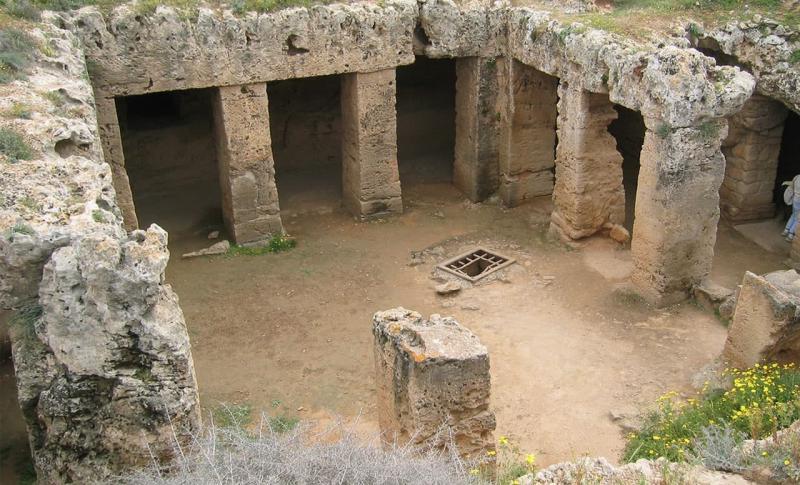 Кипр, Гробницы королей в Пафосе