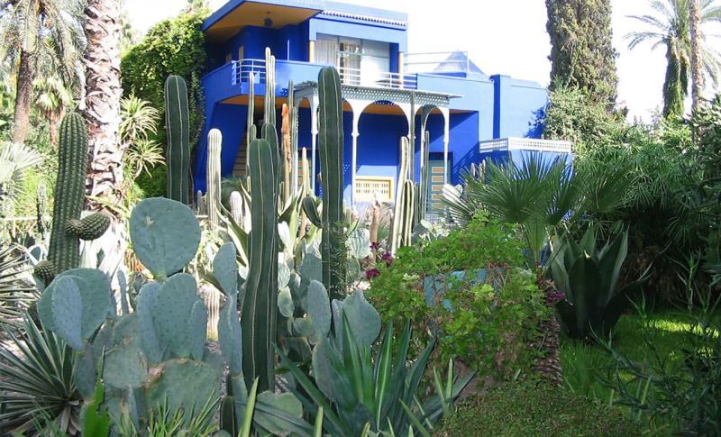 Марокко, Сад Мажорель в Марракеше