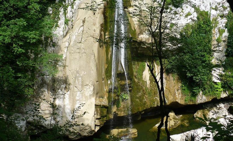 Что посмотреть в Сочи, Агурские водопады