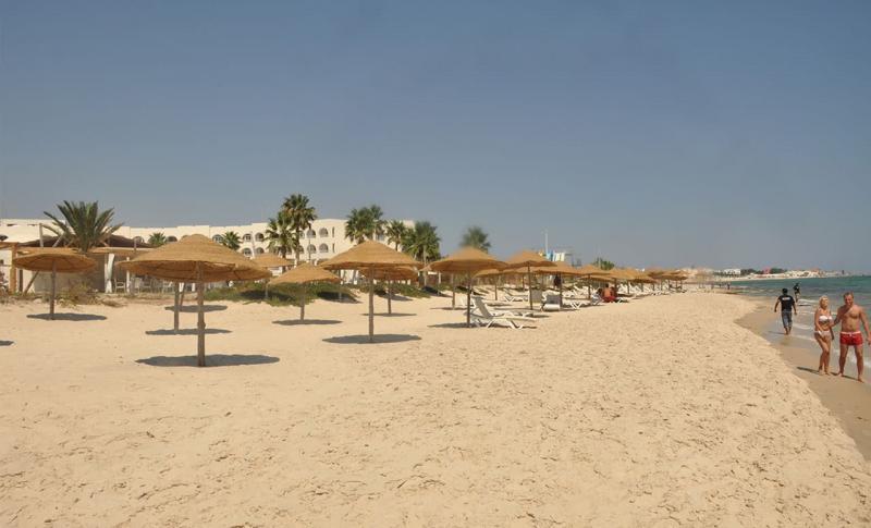Чем заняться в Хаммамете в ноябре, Пляж в Хаммамете