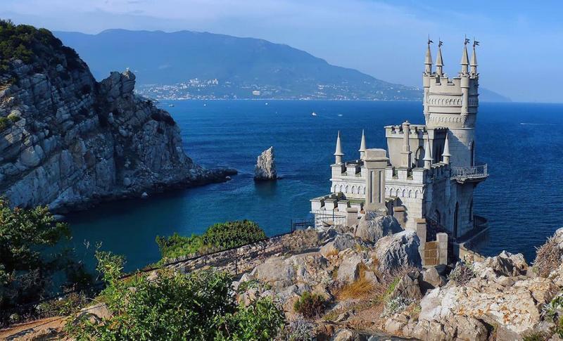 Погода в Крыму в сентябре 2020 - Ласточкино гнездо в Ялте