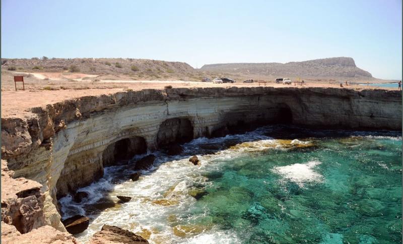 Погода на Кипре в январе - Айя-Напа, Морские пещеры-гроты