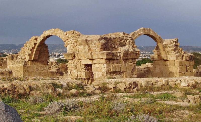 Пафос, Замок Сорока колонн