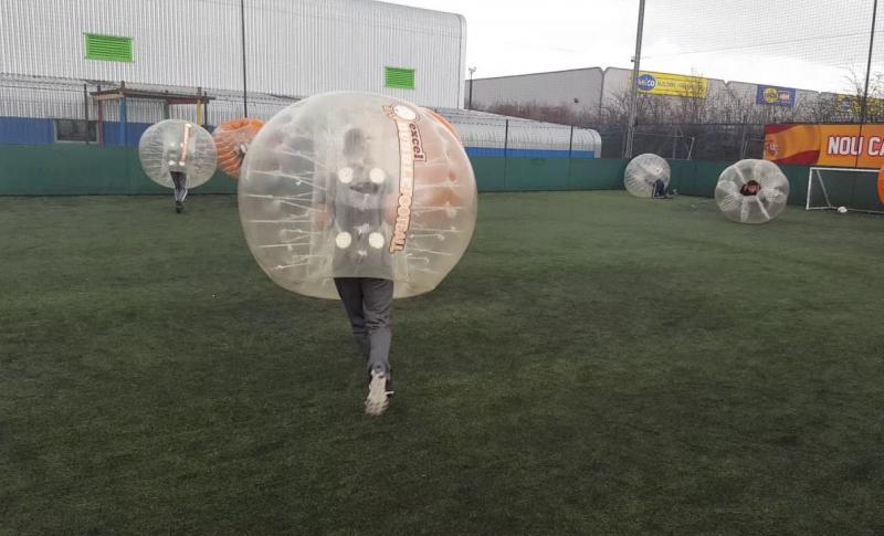 Протарас для детей, Центр «Speedball Zorbing»