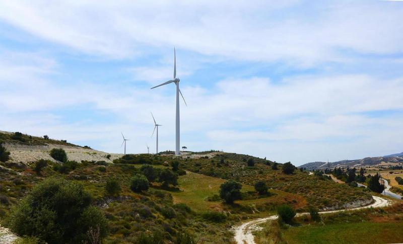 Протарас, Долина ветряных мельниц