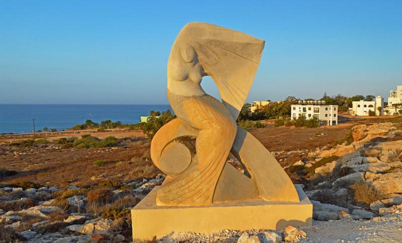 Кипр Айя-Напа Парк скульптур