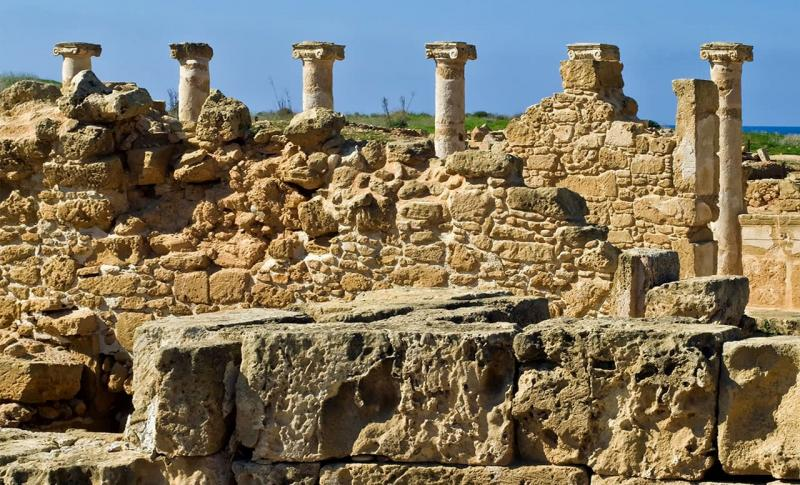 Пафос Археологический парк Като Пафос