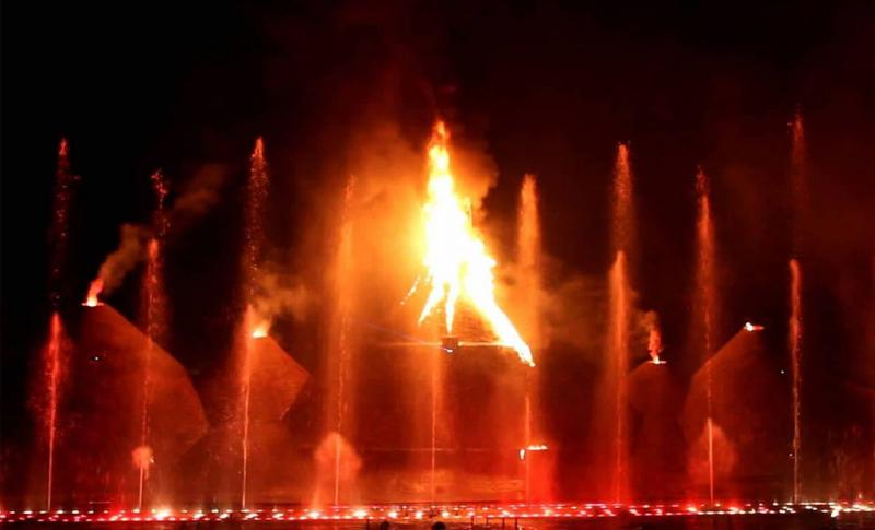 Протарас, Magic Dancing Waters Live Multi-Show