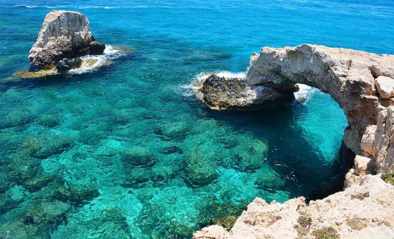 Кипр в октябре - Айя-Напа, Мост любви