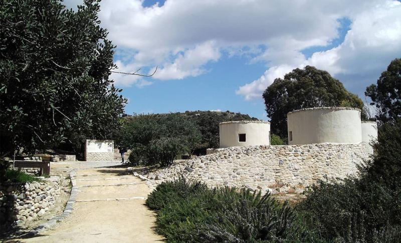 Погода на Кипре в октябре - Ларнака, Хирокития