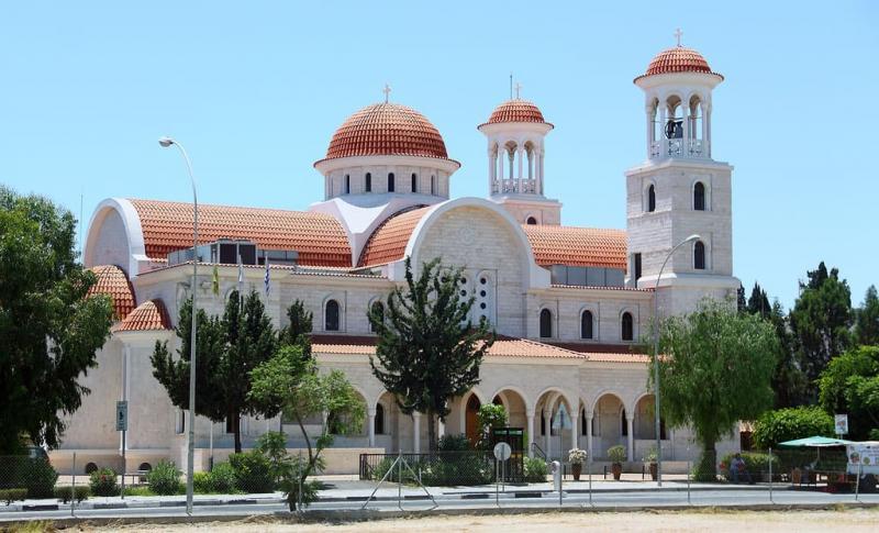 Ларнака, Храм и Церковь Фанеромени