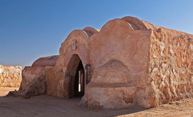 Погода в Тунисе в мае - Джерба, Местность Татуин (домик из Звездных войн)