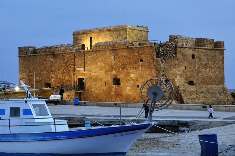 Пафос, Портовая крепость