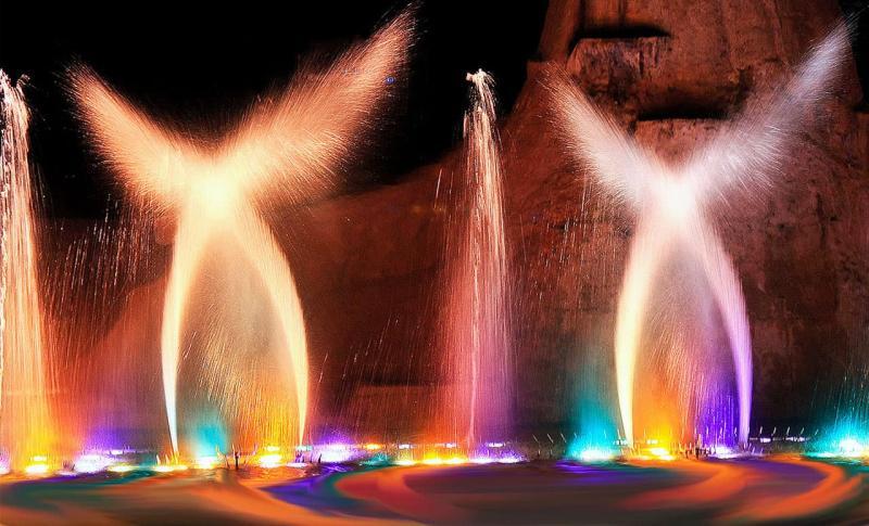 Протарас, фонтаны