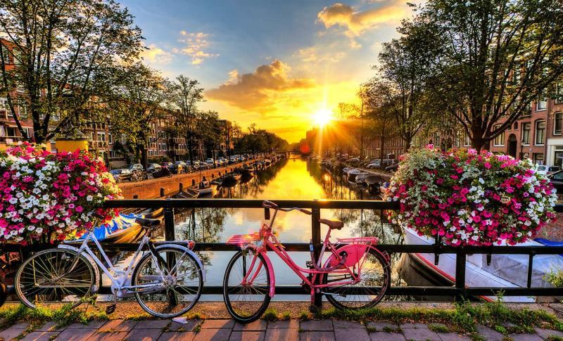 Амстердам, Самый велосипедный город планеты