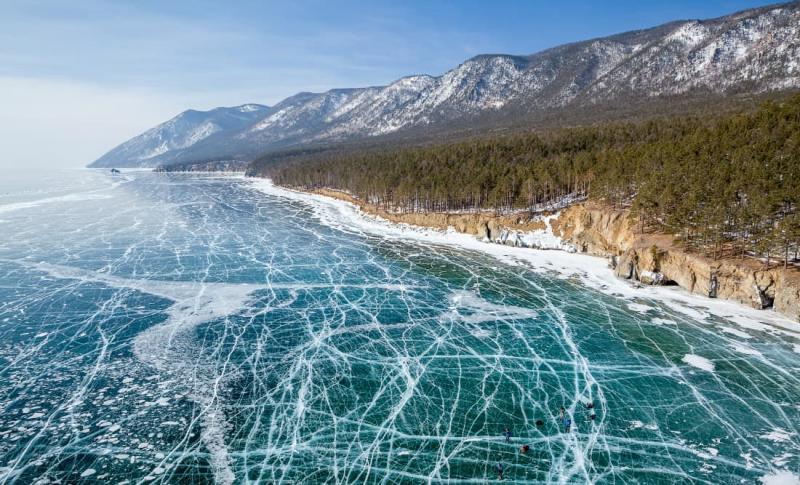 Байкал, Царство льда