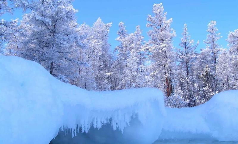 Байкал, Снежная сказка