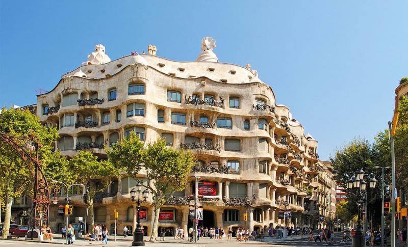Барселона, Дом Мила