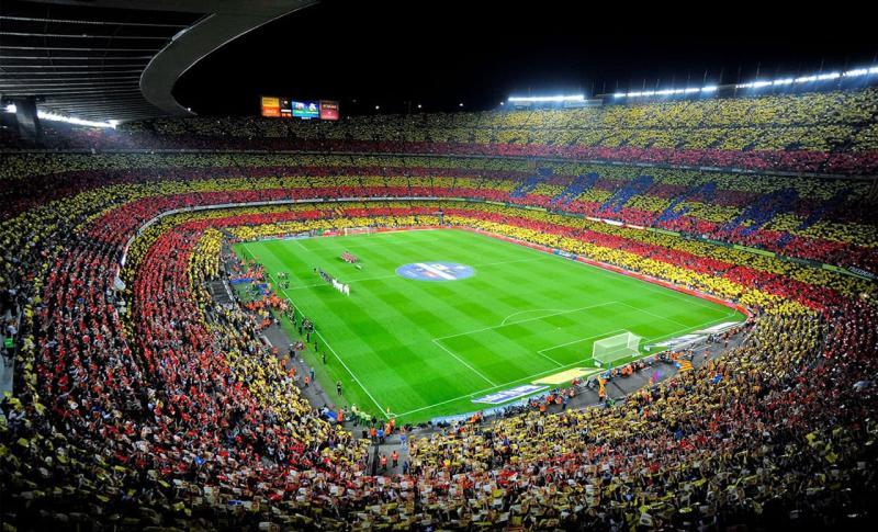 Барселона, Стадион Камп Ноу