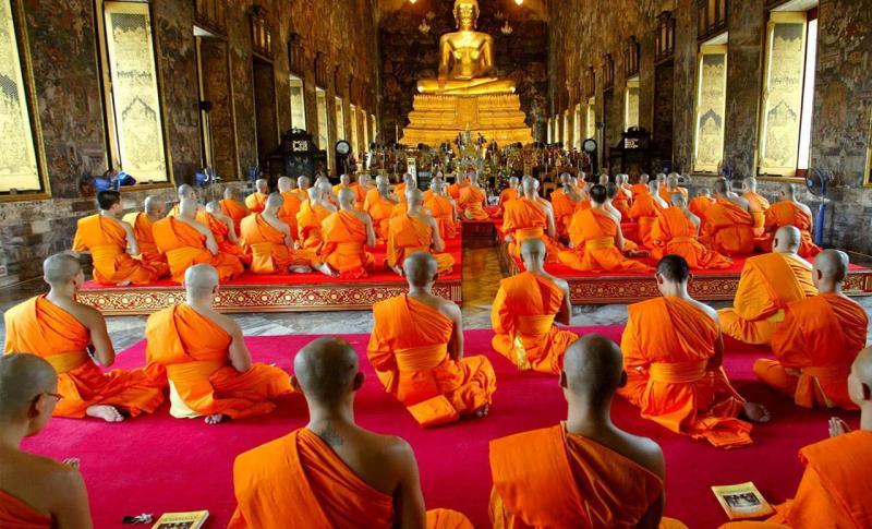 Куда поехать в марте - Индия, Отправляйтесь в Центр буддизма