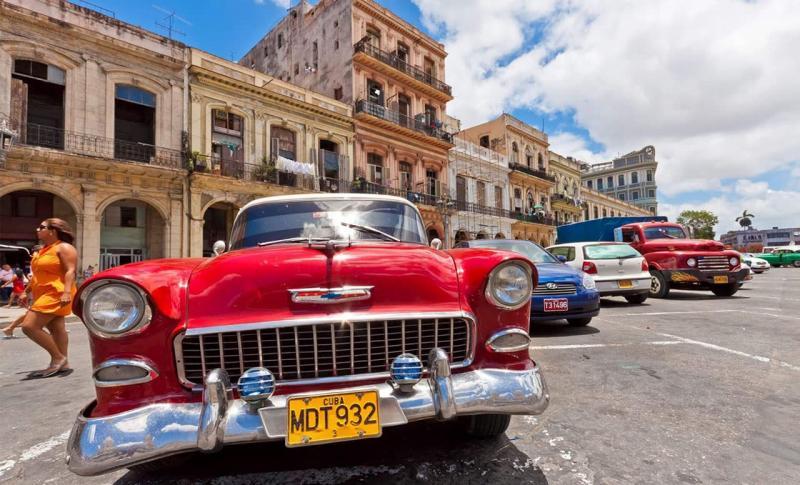 Куба, Прокатитесь на раритетном такси