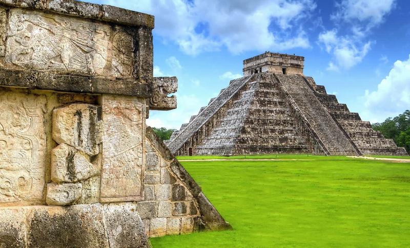Мексика, Посмотрите на руины городов Майя