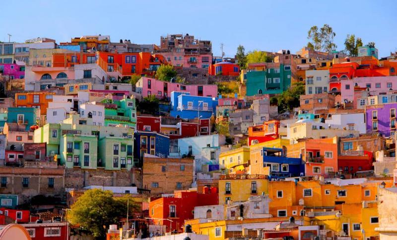 Мексика, Прогуляйтесь по ярким улочкам