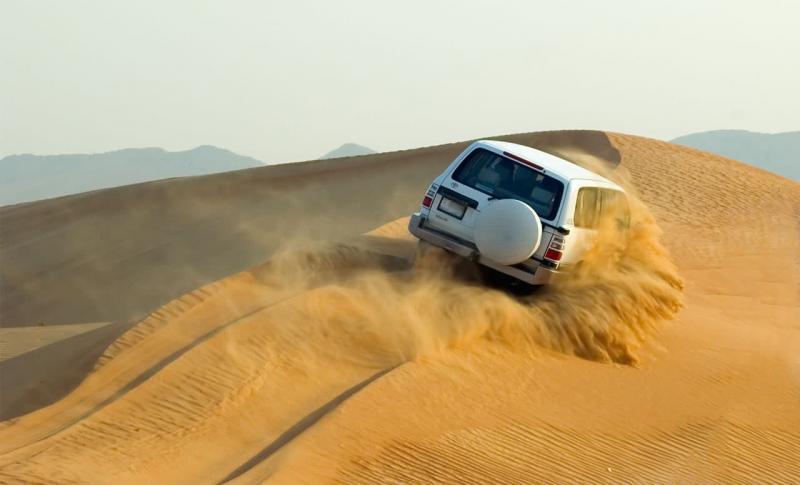 ОАЭ, Авто ралли в пустыне