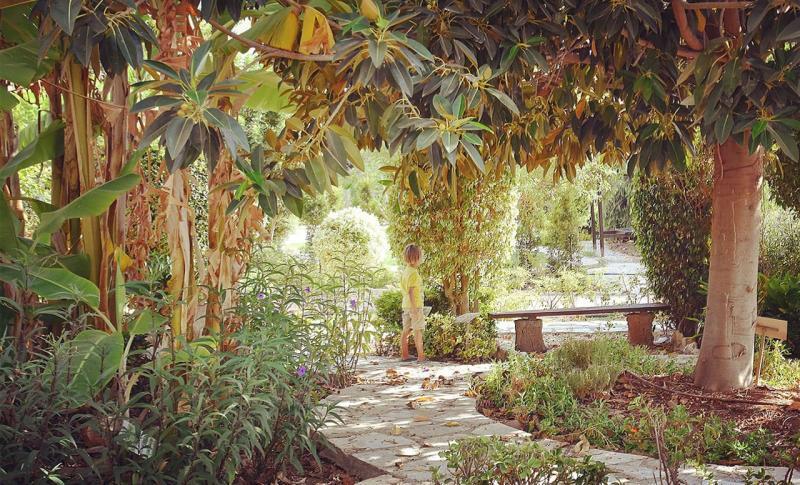 Пафос, Ботанический парк Eleouthkia