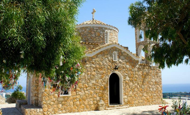 Протарас, Церковь Святого Илии