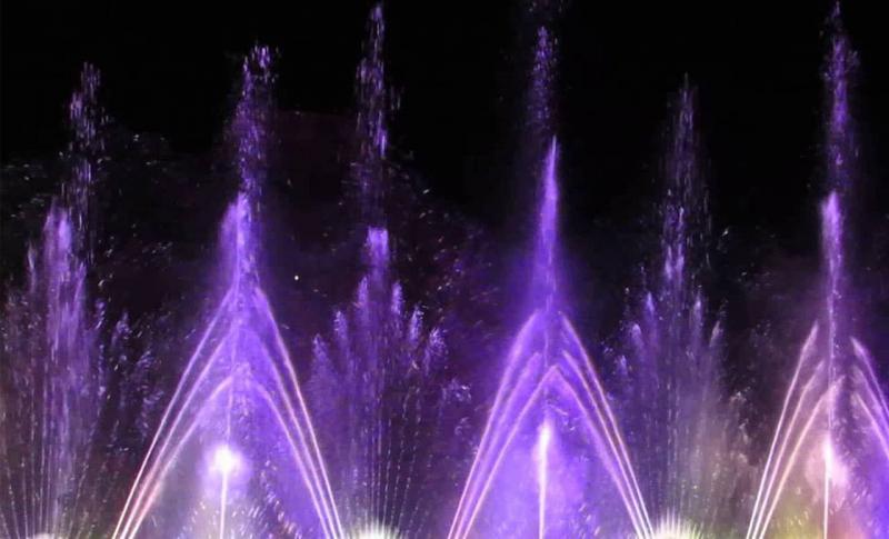 Протарас, Шоу Танцующих фонтанов