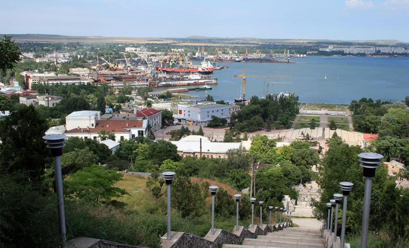 Керчь, Вид на порт