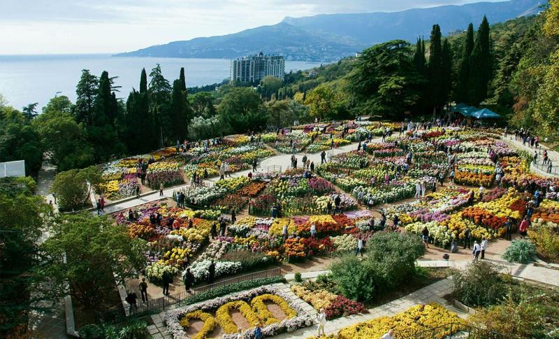 Ялта, Никитский ботанический сад
