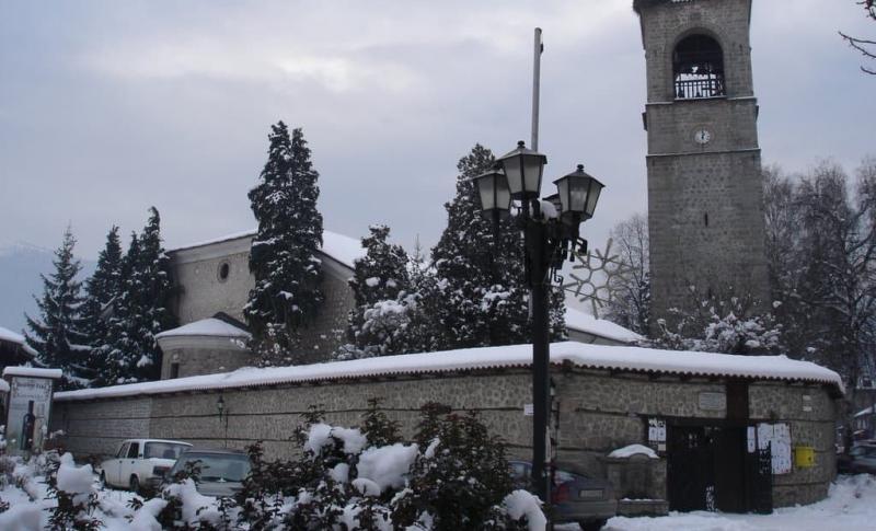Болгария, Церковь Святой Троицы в Банско