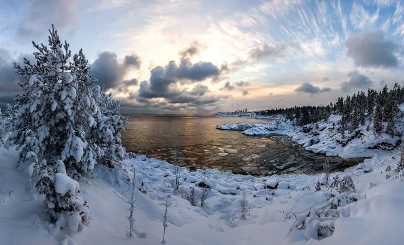 Россия, Озеро в Карелии