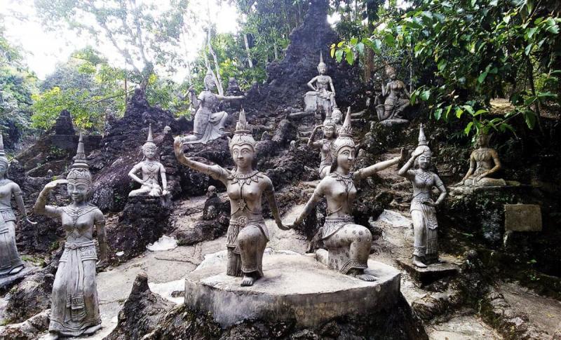 Таиланд, Магический сад Будды