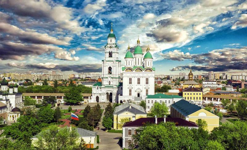 Астразхань, Астраханский кремль