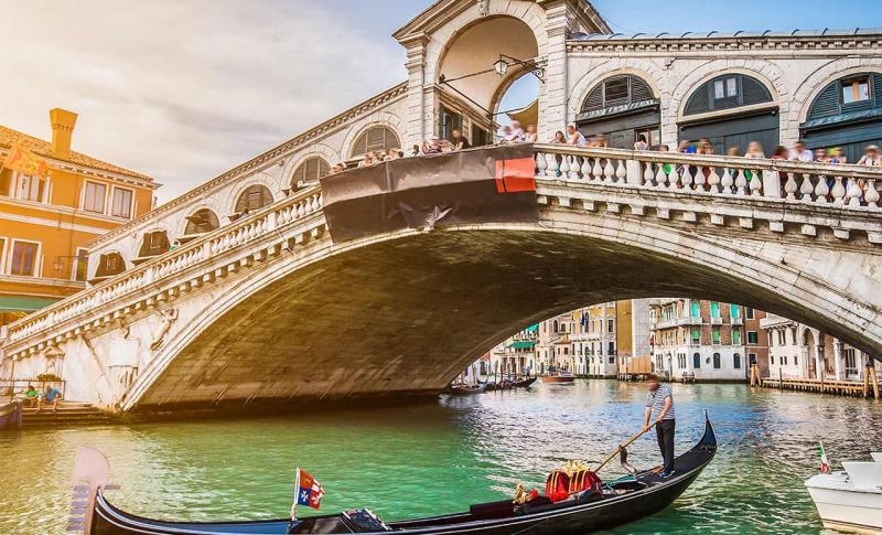 Италия, мост Риальто