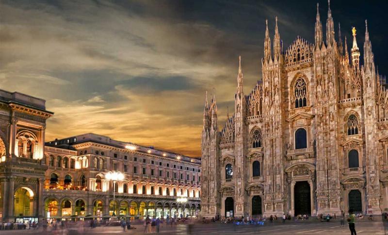 Италия, Гламурный Милан