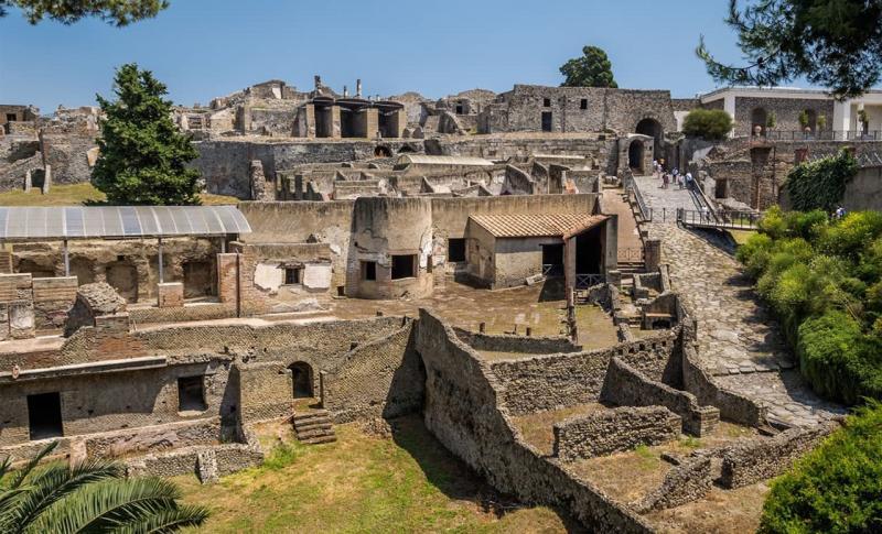 Италия, Руины Помпей
