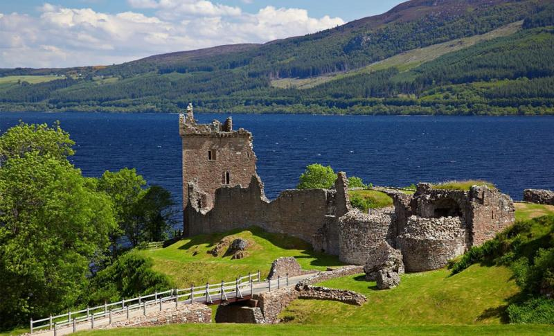 Великобритания, Шотландия, озеро Лох-Несс