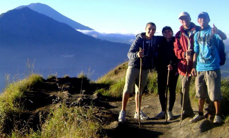 Чем заняться на Бали в ноябре, подъём на гору Батур
