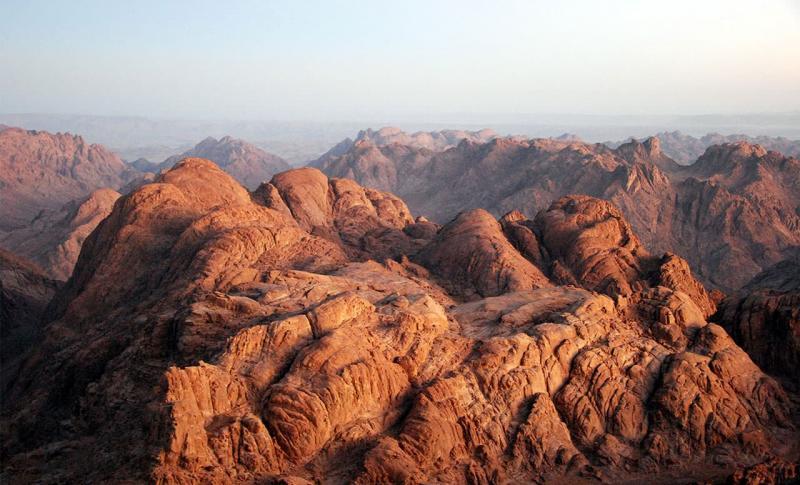 Чем заняться в Египте в ноябре, Гора Моисея